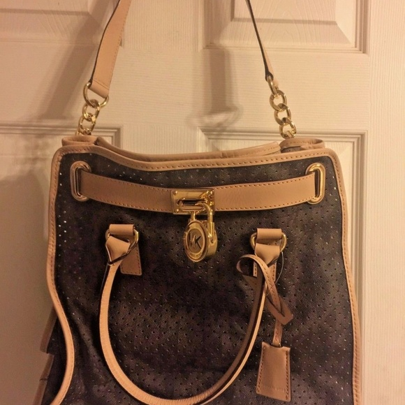 20d75ffc2da9 Michael Kors Bags | Brand New Large Hamilton Tote | Poshmark